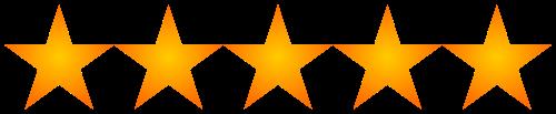 5 Stars - Excellent