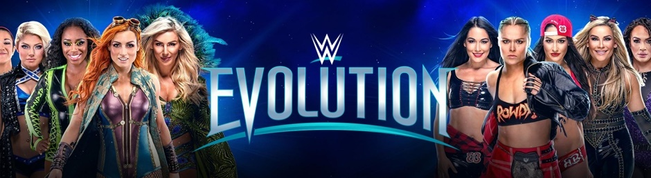 WWE Evolution header
