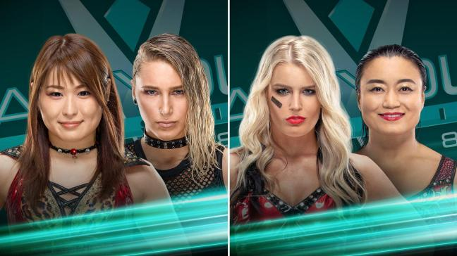 WWE Mae Young Classic 2018 Semifinals