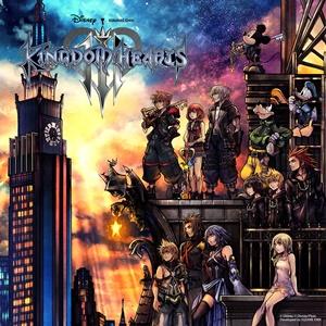 Kingdom Hearts 3 box art
