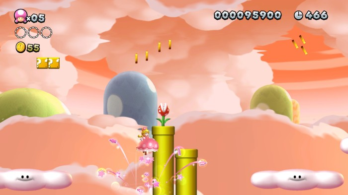 New Super Mario Bros. U Deluxe - Peach