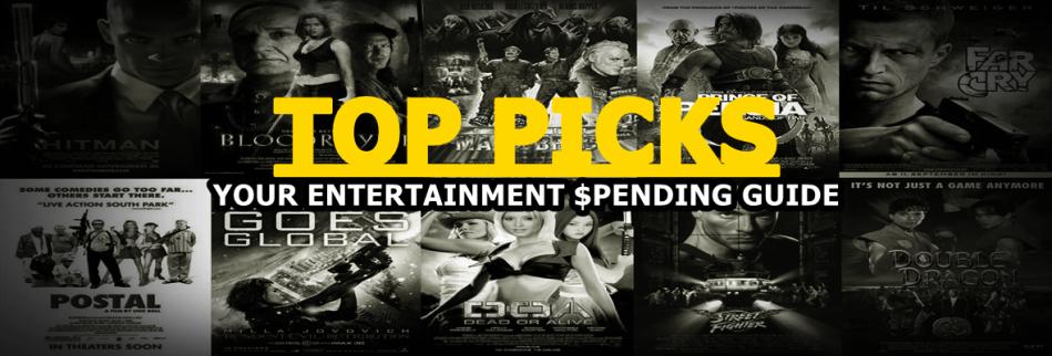 Top Picks Spending Guide Header
