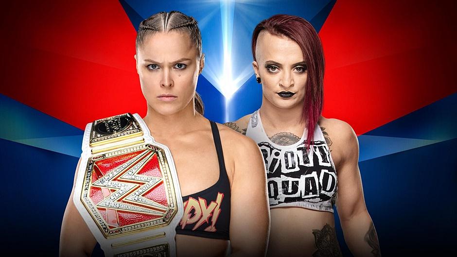 Ronda Rousey Ruby Riott Elimination Chamber