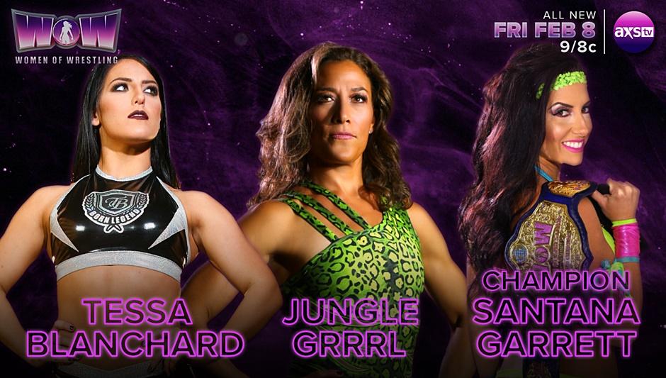 WOW Women of Wrestling 2/8/19