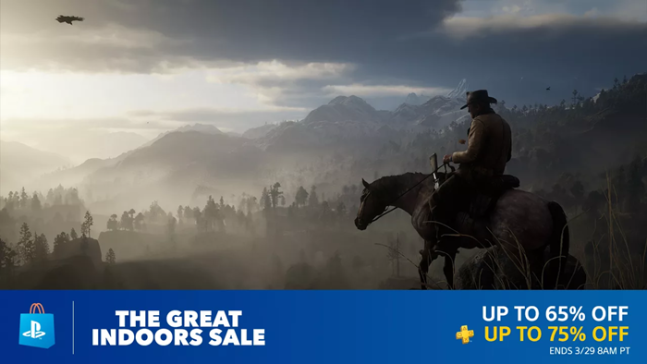 PS4 Great Indoors Sale 2019