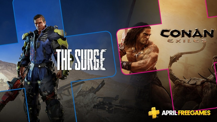 PlayStation Plus Games April 2019
