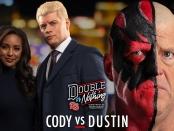 AEW Double or Nothing Dustin vs Cody