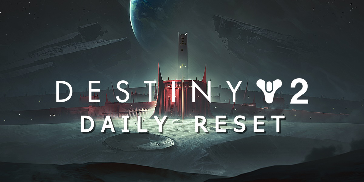 Destiny 2 Daily Reset 1/16/2020