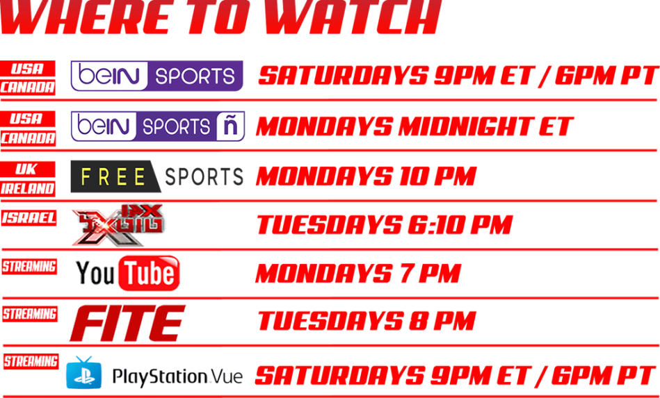 Where to Watch MLW