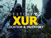 Destiny 2 Xur Location & Inventory