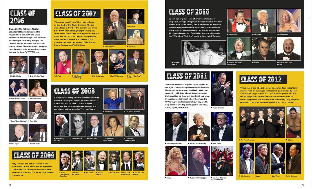 35 Years of WrestleMania - Hall of Fame