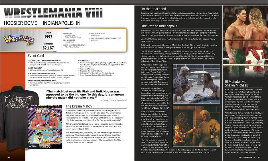 35 Years of WrestleMania - VIII