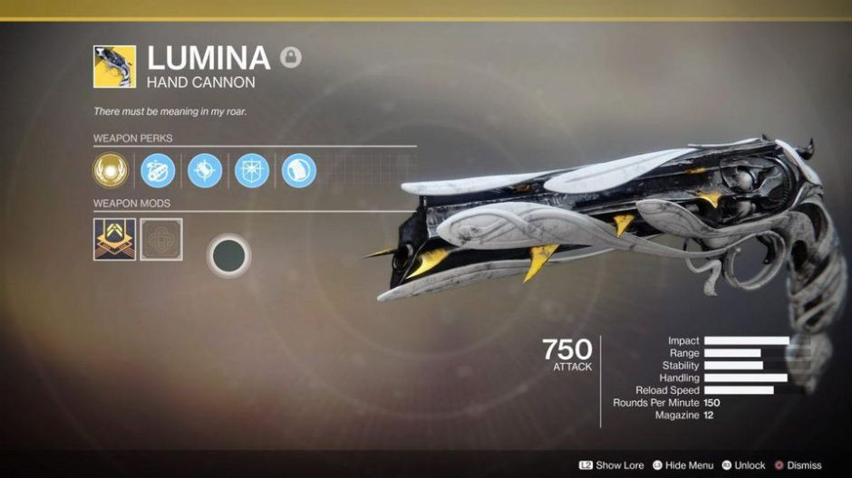 Lumina Destiny 2