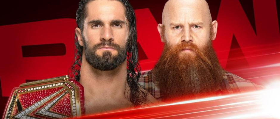 WWE RAW 10/28/19 Preview