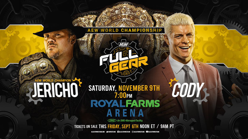 AEW Full Gear 11/9/19 Preview