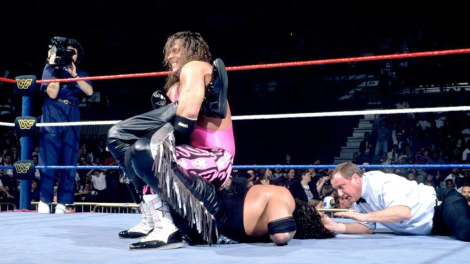 Royal Rumble 1995 Bret vs Diesel