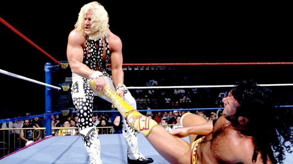 Royal Rumble 1995 Double J vs Razor