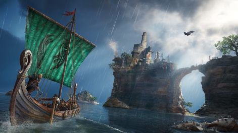 Assassins Creed Valhalla Longship Female