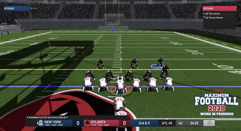 Doug Flutie Maximum Football 2020 Screenshot 01