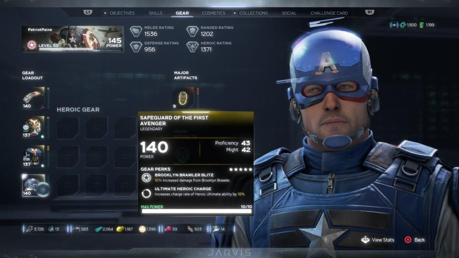 Marvel's Avengers Safeguard of the First Avenger