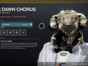 Dawn Chorus Destiny 2