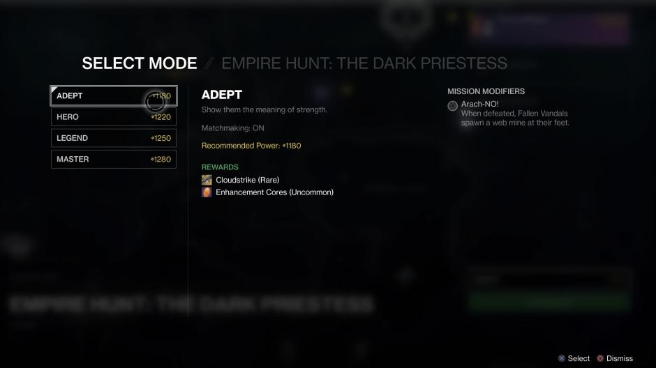 Empire Hunt Challenge