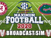 SEC Championship 2020 Simulation