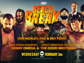 AEW 2/3/21 Beach Break