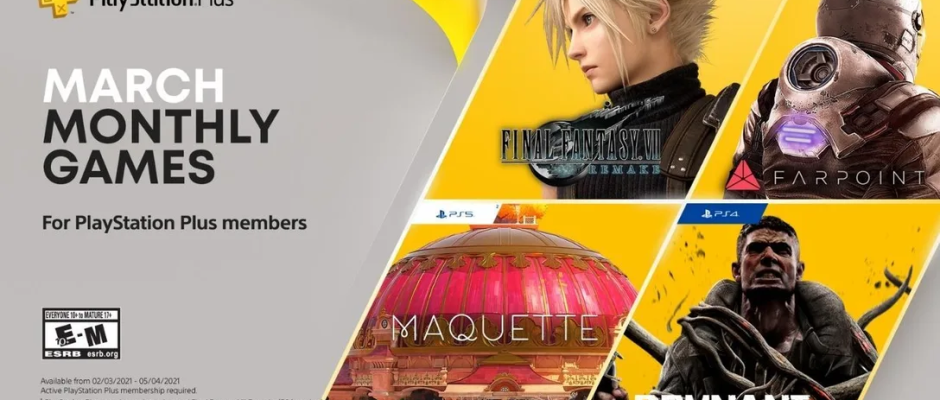 March PS+ Games